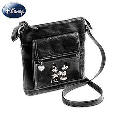 Disney Retro Mickey And Minnie Crossbody Bag