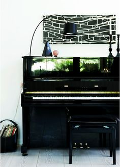 upright piano..and lovely adjustable bench http://pinterest.com/cameronpiano