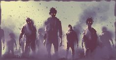 Illustration about Zombie crowd walking at night,halloween concept,illustration painting. Illustration of spooky, ashes, terror - 74490293 Zombie Wallpaper, Hd Wallpaper, Wallpapers, Apocalypse Survival, Zombie Apocalypse, Zombies Zombies, Halloween Poster, Classic Monsters, Love Fairy