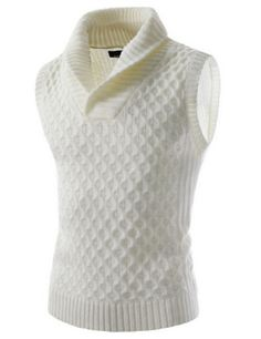 Get fashionable warm during colder days with a sweater vest! Get helpful fashion tips in wearing sweater vests right here! Mens Boots Fashion, Pop Fashion, Winter Fashion, Fashion Outfits, Fashion Design, Gentleman Style, Mens Clothing Styles, Stylish Men, Look Cool
