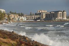Adelaide's Stormy Beaches • near Glenelg • Adelaide's beaches
