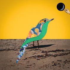 Collage by Annie's Graphic Design #collage #bird #surreal #illustration #digital art Freelance Graphic Design, Surrealism, Annie, Digital Art, Collage, Behance, Photoshop, Bird, Gallery