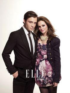 Gossip Girl (2007-2012) - Chuck Bass (Ed Westwick) & Blair Waldorf (Leighton Meester)