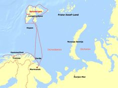 Expedition Franz Josef Land, near Russia & North Pole. Longyearbyen, Tromso, North Pole, Cartography, First World, Landing, Joseph, Russia, How To Remove