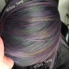Guy Tang on Instagram: #oilslick hair tutorial