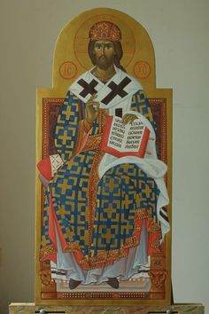 Tronende Christus Pantocrator