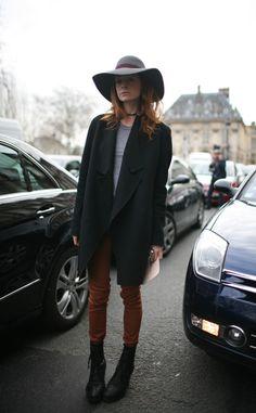 Street style en la Semana de la Alta Costura de Paris