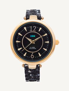 Our new Black-Gold Black Dial Sicily Watch #lamercollections #carpediem