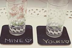 Faça você mesma: porta copos divertidos - Minha casa, Minha cara