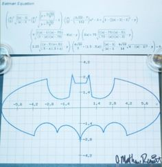 Batman Formula I so would mess this up horribly!