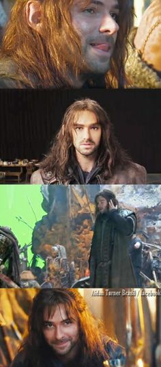 Sexy Dwarf - from Aidan Turner Brasil - facebook - https://www.facebook.com/pages/Aidan-Turner-Brasil/498187100230401