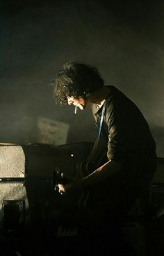 Jack White. On the keys.