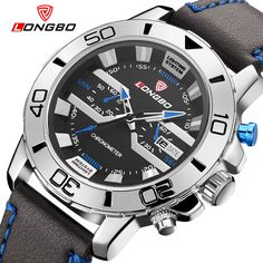 Find More Sports Watches Information about LONGBO Brand Unique Men Designer Sport Watch Luxury Sports Calendar Leather Men's Quartz Waterproof Watches relogio masculino,High Quality watch,China watches different Suppliers, Cheap watch mp4 from YIKOO fashion watches on Aliexpress.com