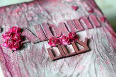 Baby Girl Photo Album  Personalized Pink Handmade by CraftPointPL
