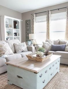 Adorable Cozy And Rustic Chic Living Room For Your Beautiful Home Decor Ideas 97