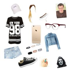 """""""Will Belmont (2)"""" by winneralldayeveryday on Polyvore featuring rag & bone/JEAN, Converse, Hershesons, Yves Saint Laurent, Buy Seasons, Wet Seal and Zac Posen"""