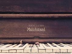 25% off at checkout with code SUMMER25 - Melodigrand Piano Photograph by PictureBook on Etsy #austintexas #austin #piano #etsy #photography #sale