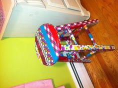 Duct tape stool! @Jordan Bromley Bromley Bromley Haze