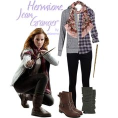 """Hermione Jean Granger"" by delanemo on Polyvore"