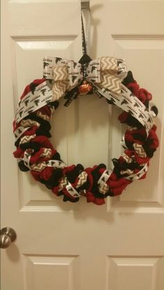 Falcons wreath and my first sale!