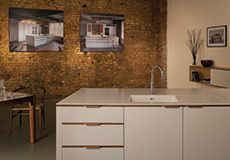 Islington Showroom Bespoke Kitchens, Corian, Cabinet Makers, Cladding, Showroom, Trench, Home Decor, Interior Design, Home Interior Design
