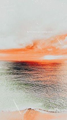 Ocean Wallpaper, Summer Wallpaper, Iphone Background Wallpaper, Scenery Wallpaper, Sunrise Wallpaper, Background Images Wallpapers, Cool Backgrounds, Iphone Wallpaper Tumblr Aesthetic, Aesthetic Pastel Wallpaper