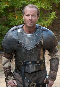Jorah Mormont in armor, from HBO's TV series: Game of Thrones