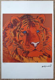 Siberian Tiger, Andy Warhol, Leo, Back Art, Paper Size, Art For Sale, Israel, Art Gallery, Etsy Shop