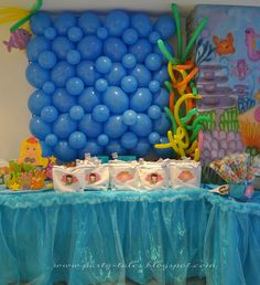 """Photo 1 of 16: Mermaid Under the Sea / Birthday """"Memaid Under the Sea Party"""" 