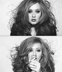 Adele- omg thus woman is sooooo effn hott
