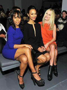 CHIC CLIQUE photo | Kate Bosworth, Kerry Washington, Zoe Saldana