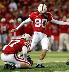 One of my favorite former Nebraska football players, Kicker Alex Henery, who now plays for the Philadelphia Eagles.