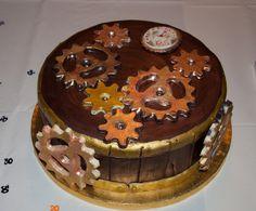 Steampunk Cake - for Savannah's birthday