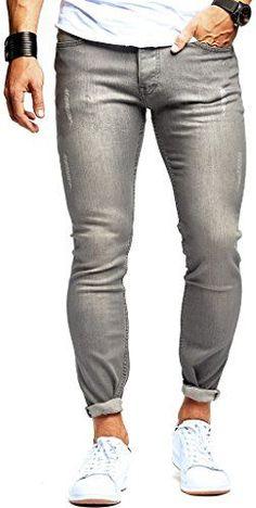 00c70c626e88  Amazon  LEIFNELSON  Bekleidung  DENIM  Herren  Hosen  Jeans  LEIF  NELSON   Herren  Hose  Jeans  Stretch  Basic  Jeanshose  Freizeithose  Denim  Slim   Fit ...