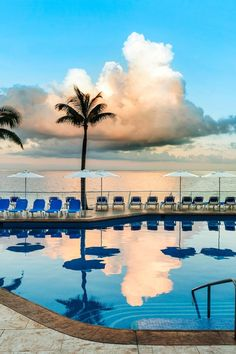 Take advantage of the resort's two swimming pools, one of which is a tranquil infinity pool. #Jetsetter Cozumel Palace (Cozumel, Mexico)