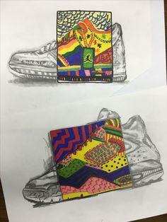 """Shoe POP Art""  howardkanter.com"