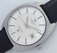 Swiss Made Tissot Swiss Seastar automatic men's vintage watch mint condition. by…