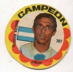 Simeone - Argentina #387  1966