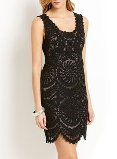 Yoana Baraschi lace dress.