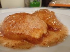 Country Apple Dumplings made with Mountain Dew - melt-in-your-mouth good!!