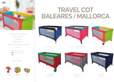Travel Cot Baleares / Mallorca by Asalvo l #madewithlove