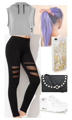 """Untitled #536"" by tinacutie on Polyvore featuring Topshop, Nine West and NIKE"