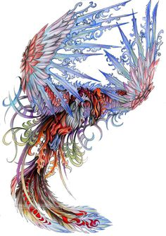 The Phoenix, Guardian of Fire. She is the Lady of Peace, appearing only during happy times. She presides over the Meadow of Peace, a quiet collection of villages in the Alliance territory.