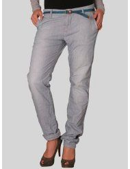 Maison Scotch Damen Jeans 12251285736 - REBELLE - CHINO - HICKORY JANE