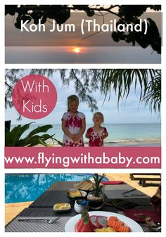 Koh Jum With Kids - Thailand Family Travel Tips Koh Jum Island, Thailand is close to Krabi, yet remains a hidden gem untainted from mass tourism. With accommodation to suit all budgets, amazing boat trips to Phi Phi, snorkelling, rock climbing, kayaking & more kids of all ages will enjoy this paradise. Discover where to stay and what to do! #travelwithkids #familytravel #kohjum #thailandwithkids