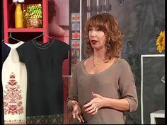 В этой передаче вы узнаете как украсить валяный жилет авторскими аксессуарами. - YouTube