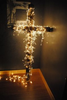Christ centered Christmas decoration. Love this.