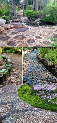 25 Most Beautiful DIY Garden Path Ideas - Page 2 of 2 - A Piece Of Rainbow