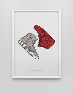 Image of <br>Yeezy vs Yeezy