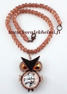 My new necklace with owl pendant.